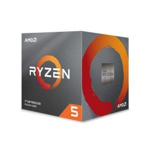 AMD Ryzen 5 3600XT Gen3 6 Core AM4 Processor with Wraith Spire Cooler (100-100000281BOX)