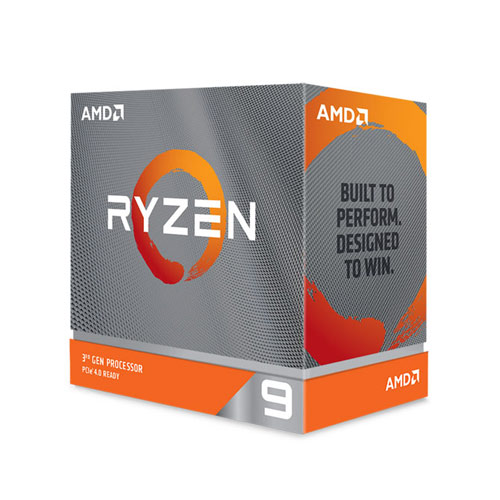 AMD Ryzen 9 3900XT Gen3 12 Core AM4 Processor (100-100000277WOF)