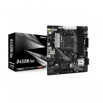 ASRock B450M/Ac (Wi-Fi) Motherboard