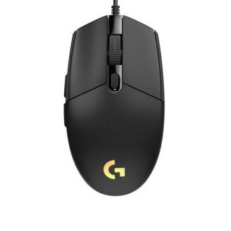 Logitech G102 Lightsync RGB Gaming Mouse (Black)
