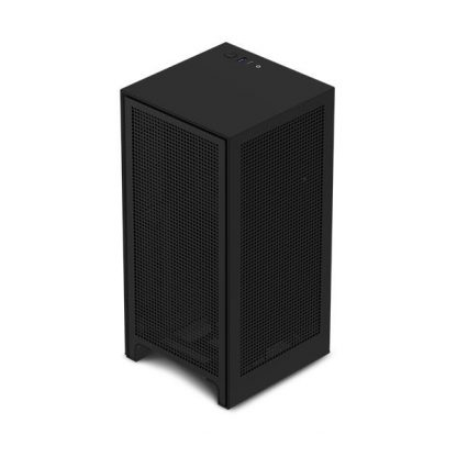 NZXT H1 Cabinet With PSU, AIO, And Riser Card (Matte Black) (CA-H16WR-B1-UK)