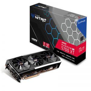 SAPPHIRE NITRO+ RX 5700 XT 8G GDDR6 Graphics Card