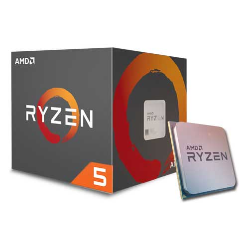 AMD RYZEN 5 1600X 3.6 GHz (4.0 GHz Turbo) Socket AM4 95W Desktop Processor (YD160XBCAEWOF)