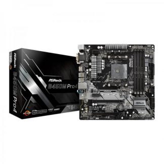 ASRock B450M Pro4 Motherboard (B450M-PRO4)