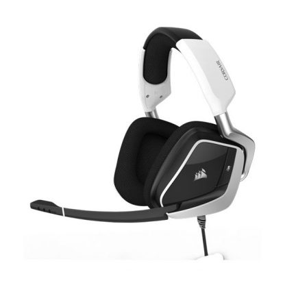 Corsair Void Pro RGB Dolby 7.1 Gaming Headset (White) (CA-9011155-AP)