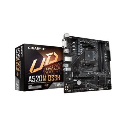 GIGABYTE A520M DS3H Motherboard (GA-A520M-DS3H)