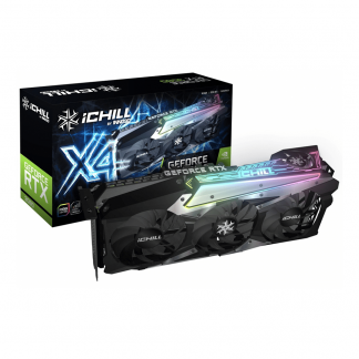INNO3D GEFORCE RTX 3080 ICHILL X4 GRAPHICS CARD (C30804-106XX-1810VA36)