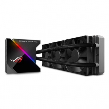 ASUS ROG RYUJIN 360 AURA SYNC RGB ALL IN ONE 360MM CPU LIQUID COOLER WITH OLED DISPLAY