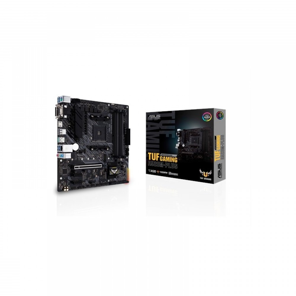 ASUS TUF GAMING A520M PLUS MOTHERBOARD(TUF GAMING A520M-PLUS)