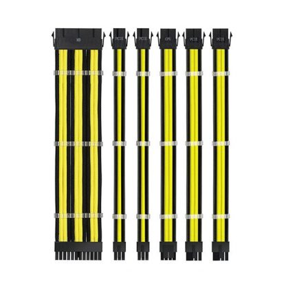 ANT ESPORTS Mod Pro Extension Cable (Yellow-Black) (MOD-PRO-YELLOW-BLACK)