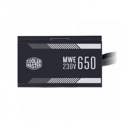 COOLER MASTER MWE 650 WHITE 230V V2 - 650 WATT 80 PLUS CERTIFIED (MPE-6501-ACABW-IN)