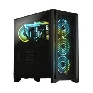 Corsair 4000D Airflow Cabinet (Black) (CC-9011200-WW)