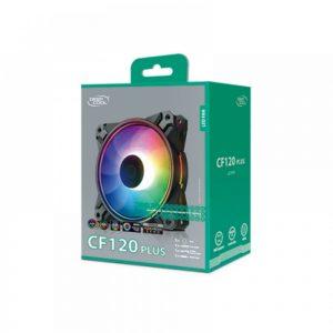DEEPCOOL CF120 PLUS 3 IN 1 ARGB CASE FAN (DP-F12-AR-CF120P-3P)