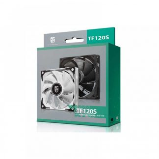 DEEPCOOL TF120 S WHITE THE BEAST - UNLEASHING RADIATOR CASE FAN (DP-GS-H12FDB-TF120S-WH)