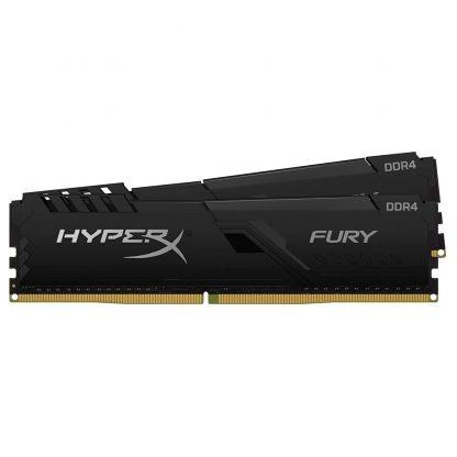HyperX Fury Black 32GB 3600MHz DDR4 CL18 DIMM RAM (Kit of 2) (HX436C18FB4K2/32)
