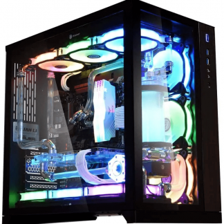LIAN LI PC-O11 DYNAMIC- BLACK MID TOWER GAMING CABINET (G99.O11DX.IN)