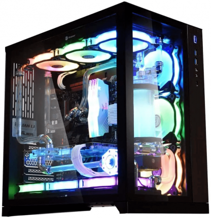 LIAN LI PC-O11 DYNAMIC- BLACK MID TOWER GAMING CABINET (G99.O11DX.IN)