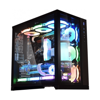 LIAN LI PC-O11 DYNAMIC- WHITE MID TOWER GAMING CABINET (G99.O11DW.IN)