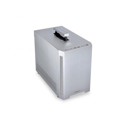 LIAN LI TU150 ALUMINIUM ITX CABINET (Silver)