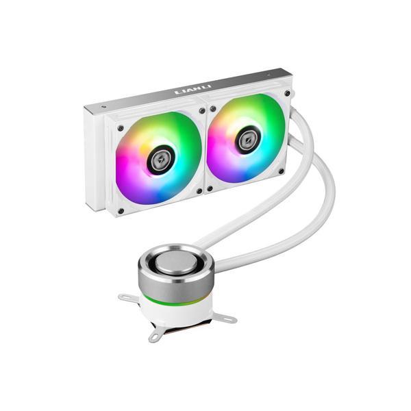 LIAN LI GALAHAD 240 ARGB CPU Liquid Cooler (Silver) (GA-240A)