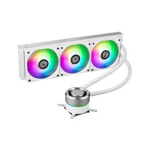 LIAN LI GALAHAD 360 ARGB CPU Liquid Cooler (Silver) (GA-360A)