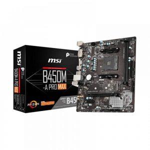 MSI B450M-A PRO MAX MOTHERBOARD (B450M-A PRO MAX)