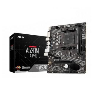MSI A520M-A PRO MOTHERBOARD (A520M-A-PRO)