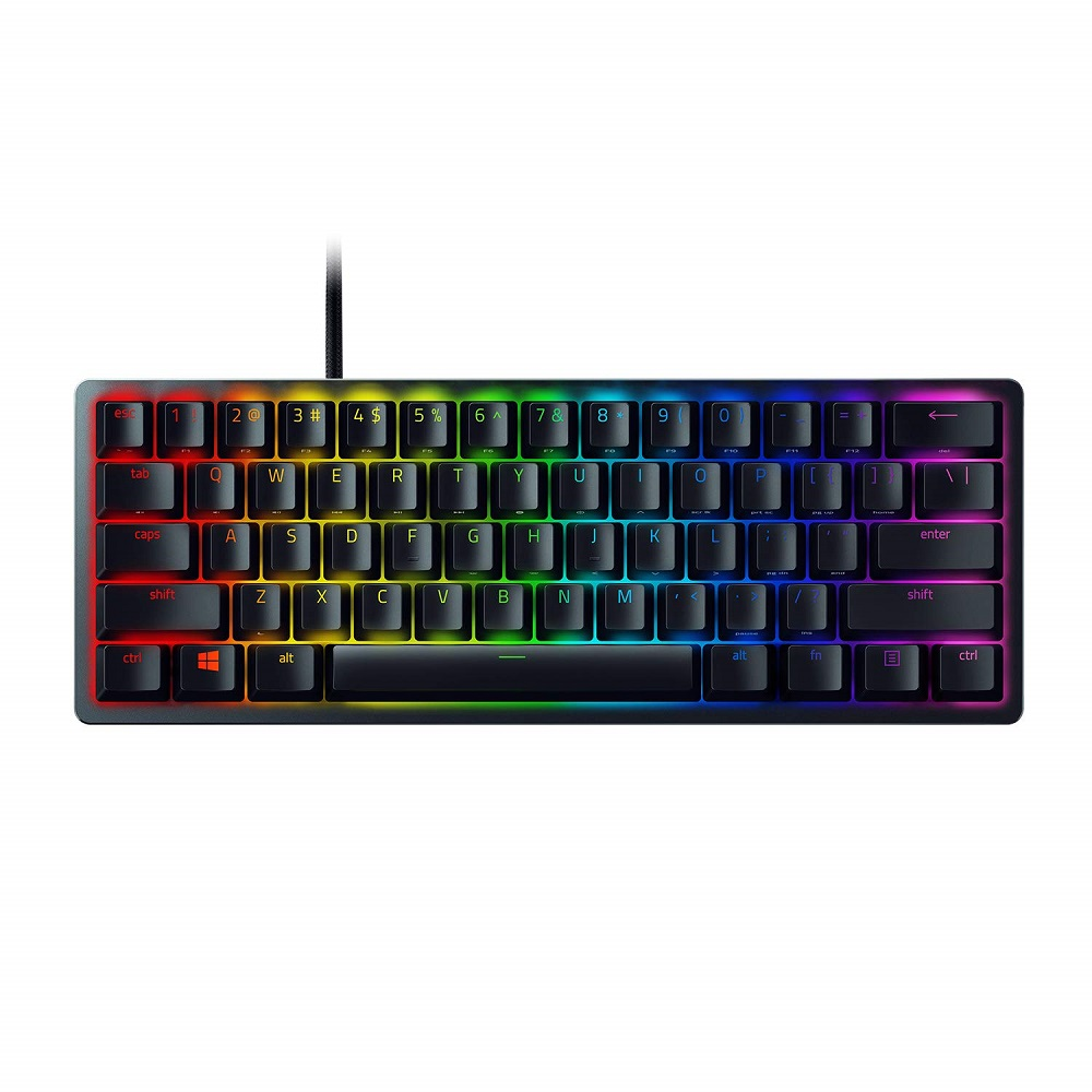 Razer Huntsman Mini – 60% Optical Gaming Keyboard (Linear Red Switch) -RZ03-03390200-R3M1