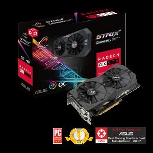 ASUS ROG STRIX RX570 04G GAMING OC EDITION 4GB GRAPHICS CARD