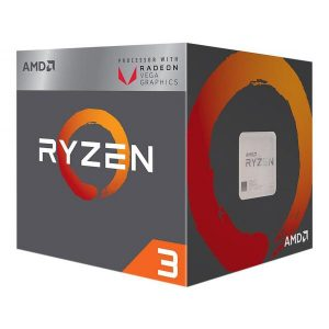 AMD RYZEN 3 2200G PROCESSOR (YD2200C5FBBOX)
