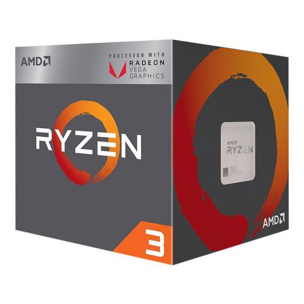 AMD RYZEN 3 2200G PROCESSOR (YD2200C5FBBOX)