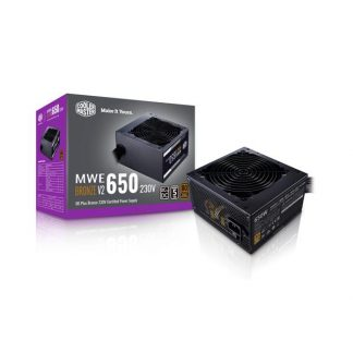 COOLER MASTER MWE 650 V2 80 PLUS BRONZE SMPS (MPE-6501-ACABW-BIN)
