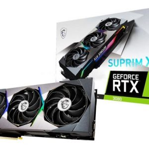 MSI GEFORCE RTX 3080 SUPRIM X 10GB GRAPHICS CARD