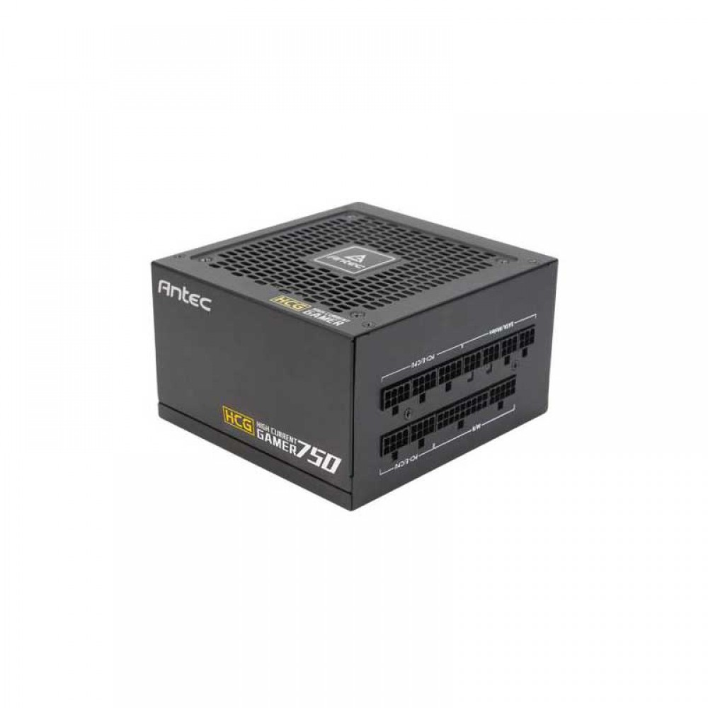 ANTEC HCG750 80 PLUS GOLD FULLY MODULAR POWER SUPPLY