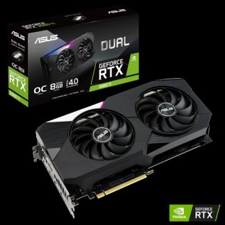 ASUS GEFORCE RTX 3060 Ti DUAL OC EDITION 8GB GDDR6 GRAPHICS CARD (DUAL-RTX3060TI-O8G)