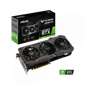 ASUS GEFORCE TUF RTX 3070 OC GAMING 8GB GDDR6 GRAPHICS CARD