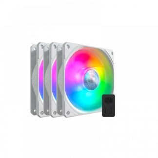 COOLER MASTER SICKLEFLOW 120 ARGB 3 IN 1 WHITE EDITION CASE FAN (MFX-B2DW-183PA-R1)