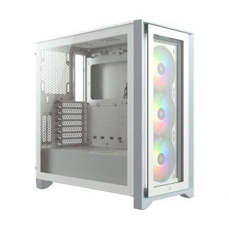 CORSAIR 4000X RGB CABINET (White) (CC-9011205-WW)