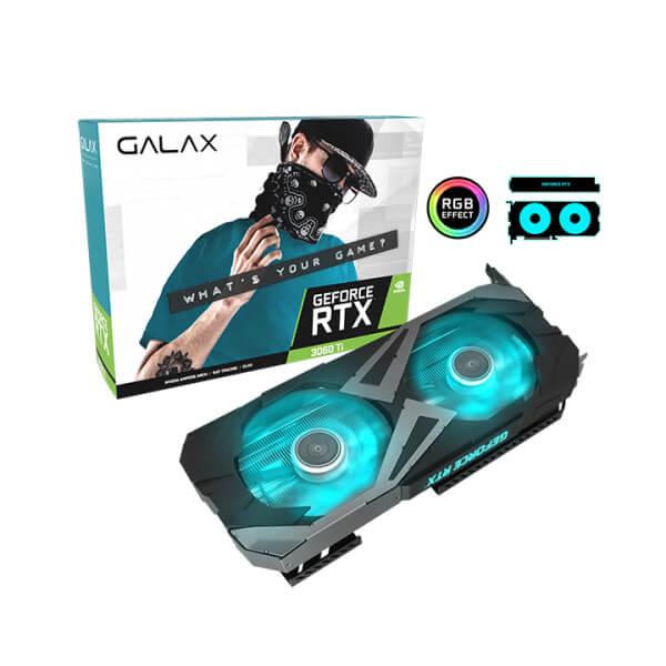 GALAX RTX 3060 Ti EX (1-CLICK OC) 8GB GDDR6 GRAPHICS CARD (36ISL6MD1WGG)
