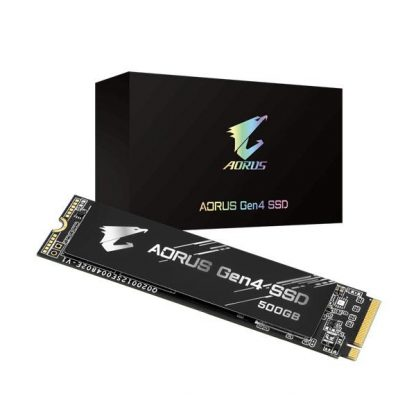 GIGABYTE AORUS 500GB M.2 NVMe GEN4 INTERNAL SSD (GP-AG4500G)