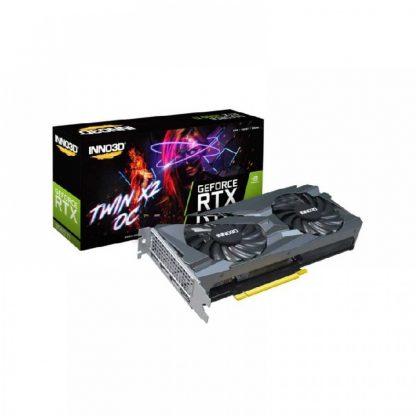 INNO3D GEFORCE RTX 3060 TI TWIN X2 OC 8GB GDDR6 GRAPHICS CARD (N306T2-08D6X-1190VA32D)