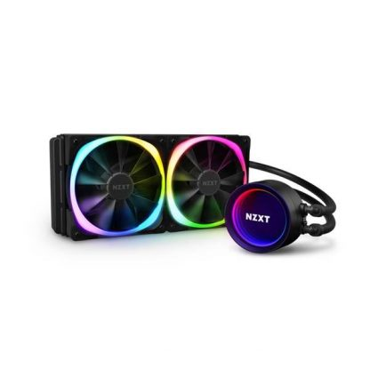 NZXT KRAKEN X53 ARGB CPU LIQUID COOLER WITH AER RGB FAN (RL-KRX53-R1)