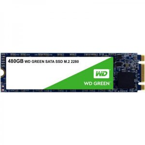 WESTERN DIGITAL 480GB GREEN M.2 INTERNAL SSD (WDS480G2G0B)