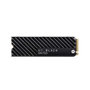 WESTERN DIGITAL BLACK SN750 1TB M.2 NVMe INTERNAL SSD WITH HEATSINK