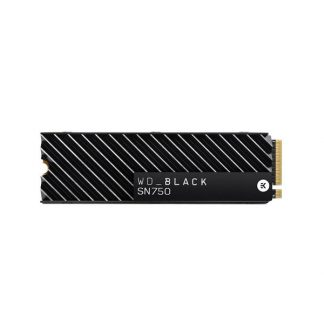 WESTERN DIGITAL BLACK SN750 500GB M.2 NVMe INTERNAL SSD WITH HEATSINK