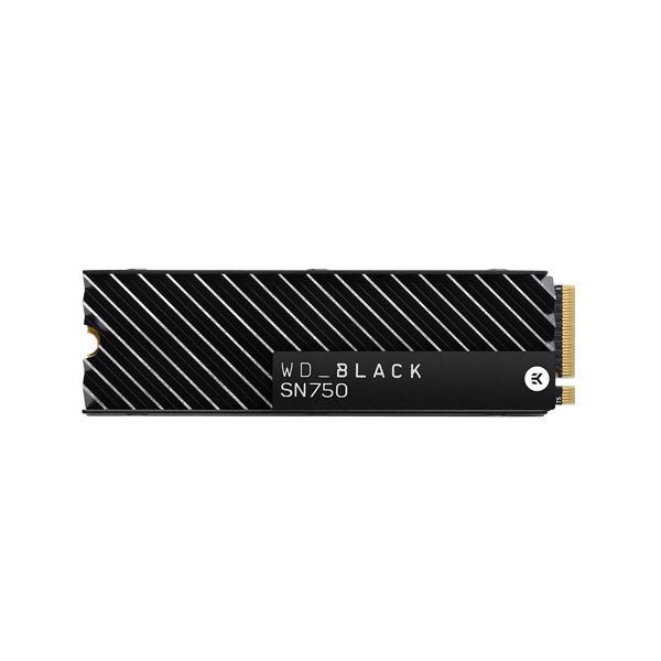 WESTERN DIGITAL BLACK SN750 500GB M.2 NVMe INTERNAL SSD WITH HEATSINK