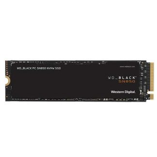 WESTERN DIGITAL BLACK SN850 500GB GEN4 3D NAND NVMe INTERNAL SSD (WDS500G1X0E)