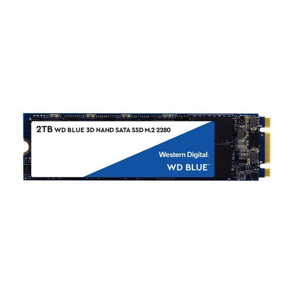 WESTERN DIGITAL BLUE 2TB M.2 INTERNAL SSD (WDS200T2B0B)