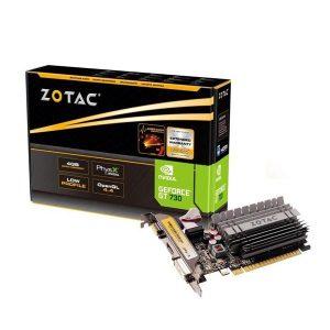 ZOTAC GT 730 LP ZONE 4GB GRAPHICS CARD (ZT-71115-20L)