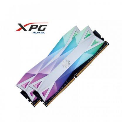 ADATA XPG SPECTRIX D60G 16GB (8GBX2) RGB DDR4 3000MHZ RAM (AX4U300038G16A-DW60)